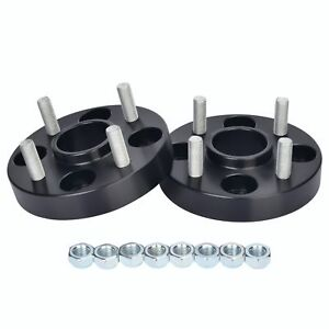 Hubcentric-Wheel-Spacer-4x100-56-1-25mm-M12x1-5-Honda-Jazz-Insight-Logo-CRX
