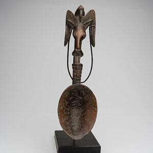 EP5 Baule Figur Löffel / Statuette baoule cuillère / Baule figure spoon
