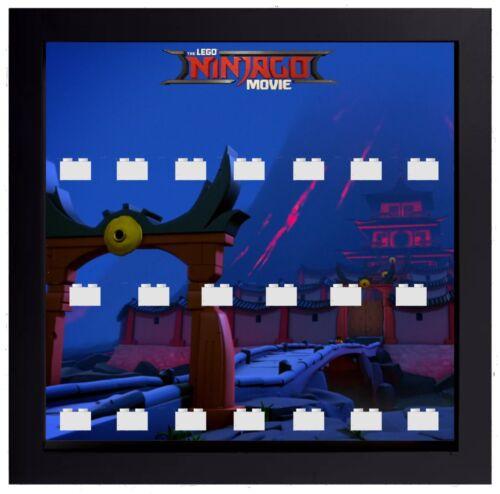 Lego The Ninjago Movie Series Minifigures Display Case Frame  mini figures
