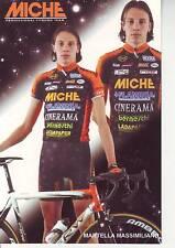CYCLISME carte  cycliste MARTELLA MASSIMILIANO équipe MICHE
