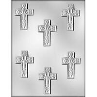 Fancy Cross 2 1/2 Communion Baptism Chocolate Candy Mold Molds Party Favors