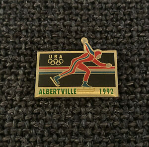 PIN'S - OLYMPIC GAMES - ALBERTVILLE 1992 - USA - UNTTED STATES OF AMERICA