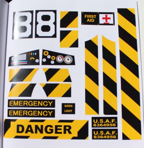 Crash Crew Truck  Stickers B2G1F Joe I G