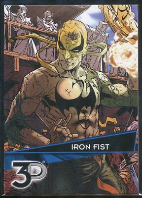 2015 Marvel 3-d Trading Card #58 Iron Fist Pure And Mild Flavor Trading Card Singles