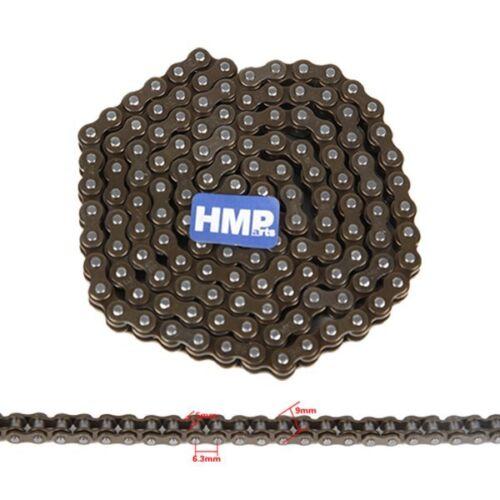 HMParts Pocket Bike Mini Quad Rocket Kette dünn 100 Glieder 25H m Kettenschloss