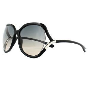 46c0cfec253 Tom Ford Sunglasses 0578 Anouk 01B Shiny Black Smoke Grey Gradient ...