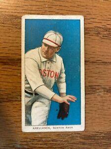 T206 Frank Arellanes Boston Red Sox CAROLINA BRIGHTS Tobacco Baseball Card