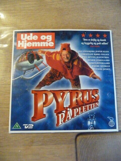 Pyrus på pletten, DVD, familiefilm