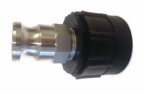 IBC Tanque Conector Con Aluminio Conexión Acoplamiento Rápido