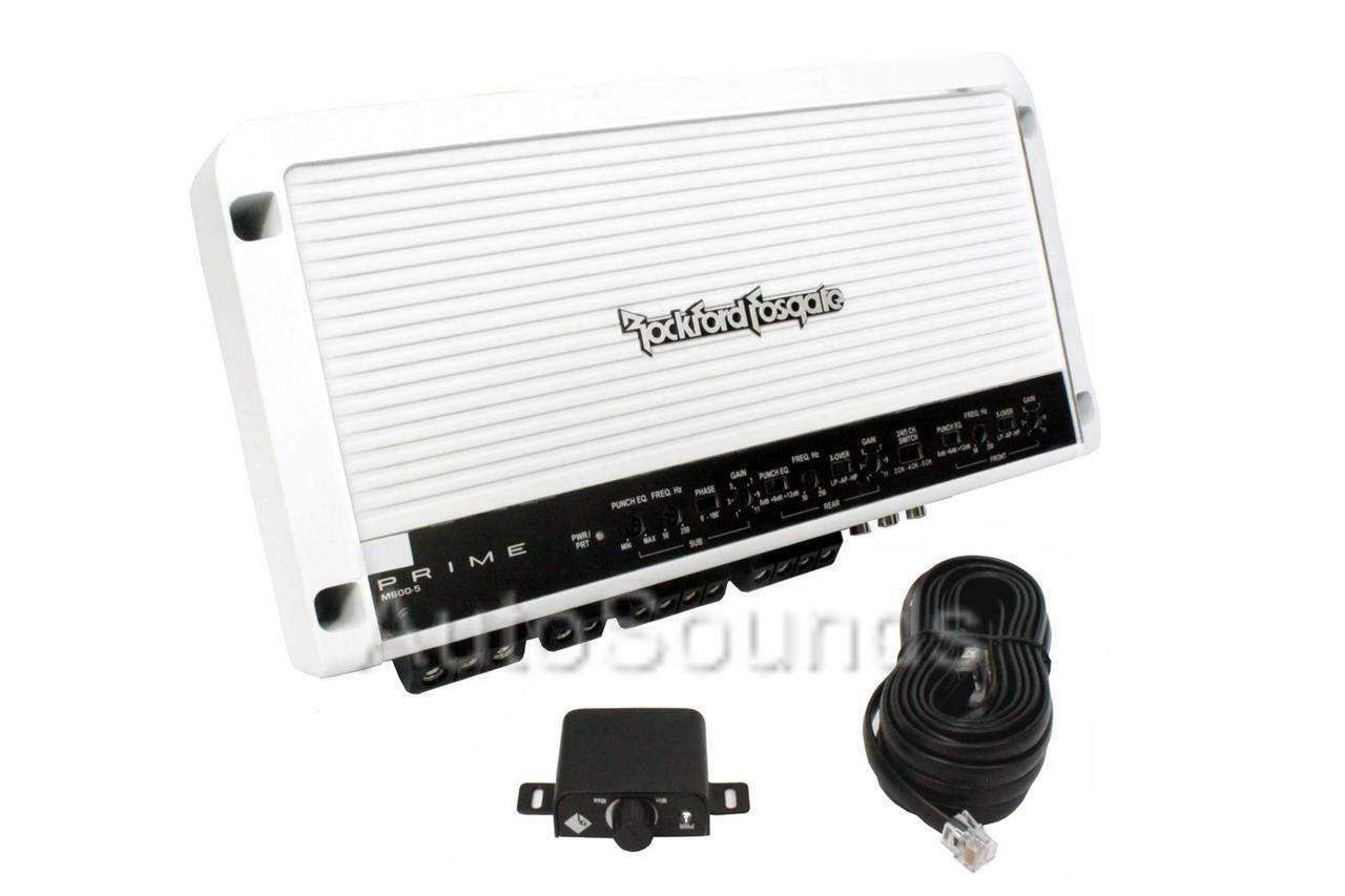 Rockford Fosgate M600 5 2yr Wrnty 3000w Channel Marine Boat Stereo Kacm3004 4 600w Amp Atv Amplifier With Wiring Kit Norton Secured Powered By Verisign