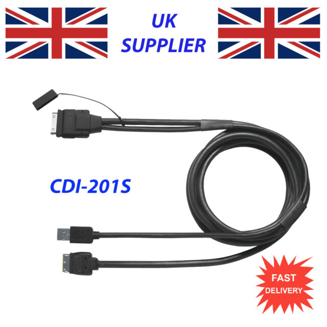 PIONEER CD-IU201S iPOD iPHONE CABLE FOR AVH-X5500BHS NEW