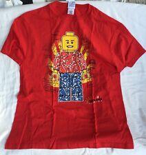 Legoland Florida Red Lego Mini Figure T Shirt 2X Large, XXL