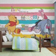 Disney Wallpaper mural for children's bedroom Winnie The Pooh - Christmas gift