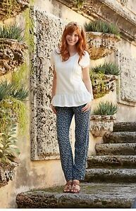 New-Matilda-Jane-Women-039-s-SIZE-XS-S-M-L-Hello-Lovely-Blue-Blossom-Pants-NWT