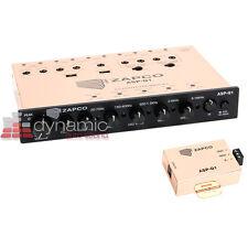 ZAPCO ASP-Q1 Car Audio 6-Channel Analog Signal Sound Processor Equalizer New