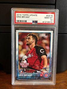 2015-Topps-Update-Kris-Bryant-Cubs-Rookie-Card-US78-PSA-10-Gem-Mint
