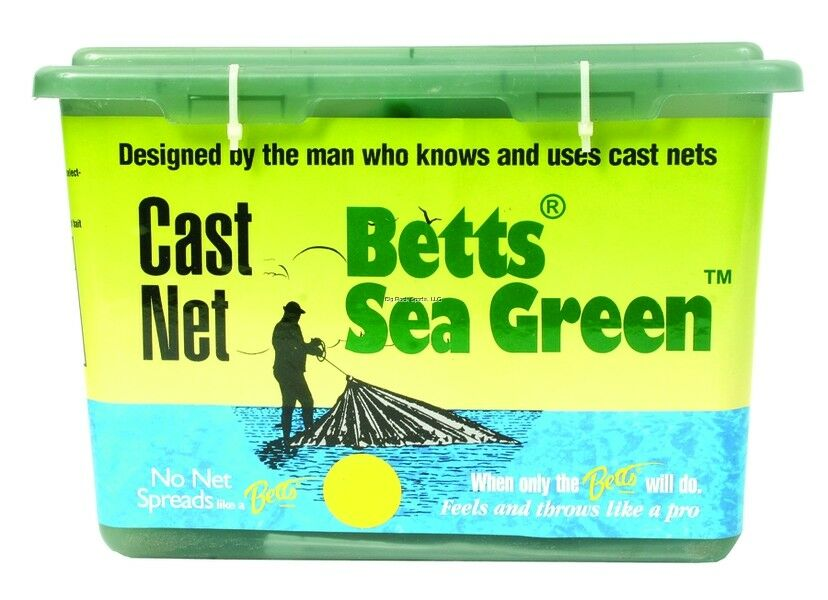 NEW  Betts 14-7 Professional Series Live Bait and Shrimp Mono Cast Net, 7-F 14-7