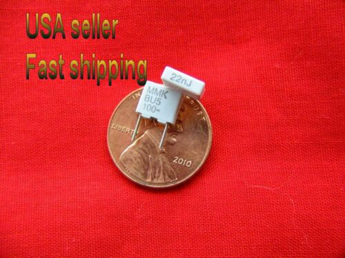 12 pcs .022uf 100v  5/% metalized film poly caps FREE SHIPPING 0.022uf, 22nf