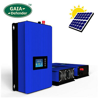 1000W Solar on Grid Tie Inverter Power Limiter, MPPT PV System DC 22-65V/45-90V