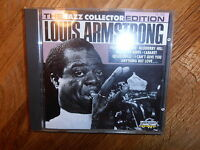 LOUIS ARMSTRONG THE JAZZ COLLECTION EDITION CD ALBUM LASERLIGHT