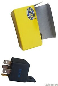 ukscooters-HELLA-4-PIN-12V-30A-GENUINE-RELAY-CAR-VAN-MOTORCYCLE-NEW