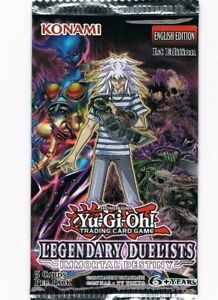 1x Yugioh Legendary Duelist Sisters of the Rose Blister Booster Pack Brand New