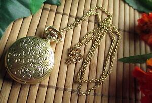 Anker 102 Sprungdeckel Kette #1421 Mit Traditionellen Methoden Alte Gold Farbene Uhr Damenuhr Kettenuhr