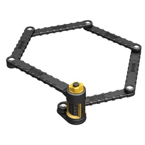 OnGuard K-9 8115 Folding Link Plate Combo Lock 88.5cm Bike Urban Combination