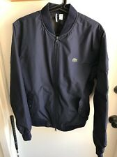 Lacoste Mens Lightweight Navy Bomber Style Jacket Size Small 48 FR