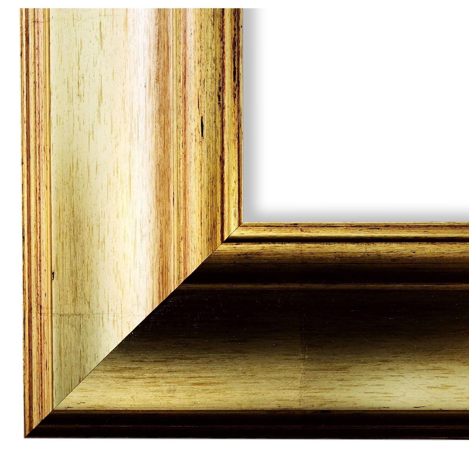 Bilderrahmen Gold Antik Vintage Rahmen Acta 6,8 - NEU alle Größen