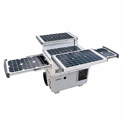 Solar Power Bank Portable Generator System Inverter Power Cube Charger Outlets