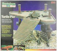 Turtle Dock Platform Aquarium Tank Floating Basking Reptile Gallon Fish Ramp Zoo