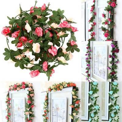 1pc//2Pcs 2.5m Ivy Garland Hanging Bud Vine Flower Wedding//Party Home Decoration