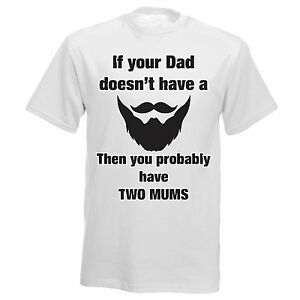 64f4eaef No Beard Inspired Fathers Day Step Dad Boys Mens Funny Joke T Shirt ...