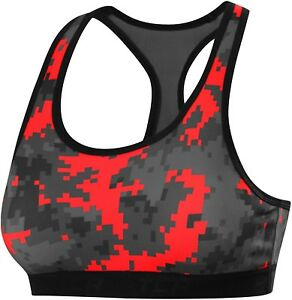 c882932d80 Image is loading TCA-Camo-Print-Womens-Sports-Bra-Red