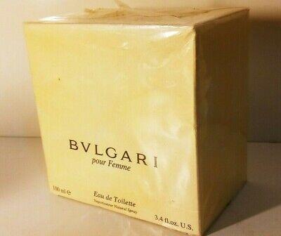 Bvlgari Pour Femme 3.4oz100ml Women's Eau de Toilette discontinuado   eBay