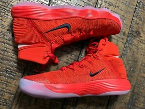 f5c3fa3bc570 Image is loading Nike-Hyperdunk-2017-Flyknit-Basketball-University-Red-SZ-