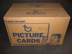 1987-TOPPS-BASEBALL-vending-box-lot-of-3-fresh-from-sealed-case-FREE-SHIPPING
