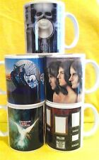 ELP-A SET OF FIVE CLASSIC ALBUM COVERS-ON  MUGS-A SNIP £20.00+P&P