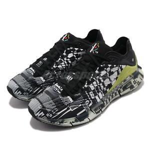 Reebok Zig Kinetica Kenzo Minami Abstract Black White Men Running Shoes FW9463