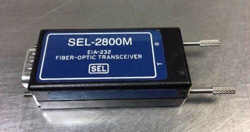 SEL-2800M EIA-232  FIBER OPTIC TRANSCEIVER 5A