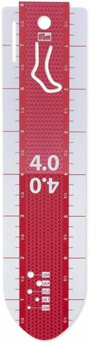 Kunststoff weiß Prym 610738 Handmaß /'Socke/' 20 cm