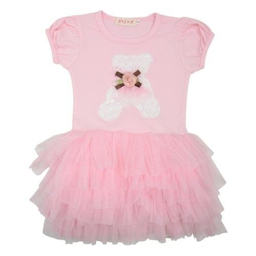 DR0002 Girls Teddy Pink TuTu Dress 3//4 5//6 yrs available