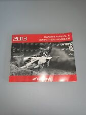 04 09 Honda Crf250 Crf 250 Cr250f Owners Manual Competition Book Ebay