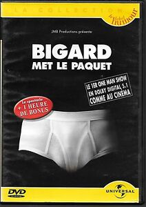DVD-ZONE-2-SPECTACLE-JEAN-MARIE-BIGARD-BIGARD-MET-LE-PAQUET