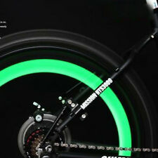 2 X Green Bike Bicycle Cycling Wheel Spoke Wire Tyre Bright LED Flash Light*>