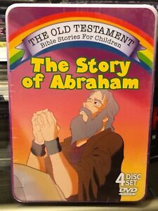 Details about The Old Testament Bible Stories for Children: The Story of  Abraham (4-DVDS) NEW!
