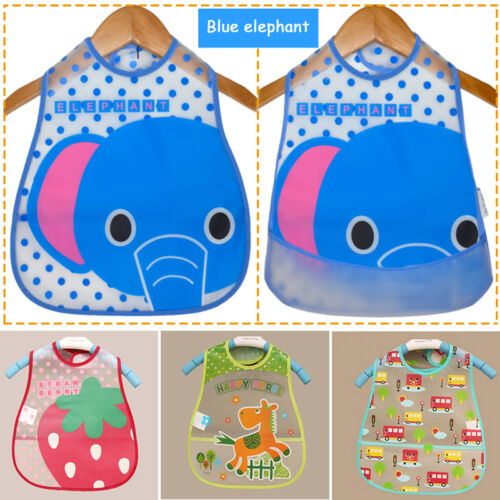 Waterproof Bibs Saliva Towel Burp Cloths Baby Girls Boys Lunch Bibs Hot Sale