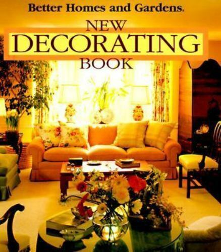 Better Homes and Gardens: New Decorating Book-ExLibrary