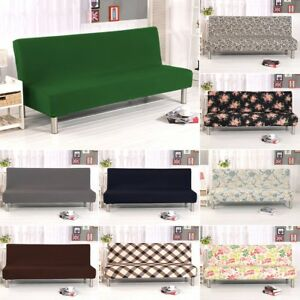 Remarkable Details About Armless Sofa Bed Slipcover Cover Protector Soft Couch Stretch Cusion Easy Fit Uk Download Free Architecture Designs Scobabritishbridgeorg